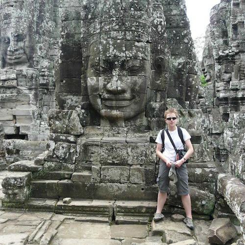 Kasia Bialek In Cambodia